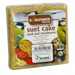 Kingfisher Suet Cake with Mealworms [BFSC02]