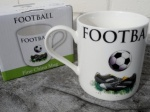 **Discontinued** Football Mug