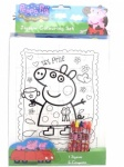 **Discontinued** Peppa Pig Jigsaw Colouring Set