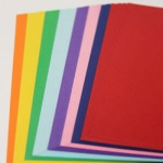 A4 Coloured Card 220gm 40 Sheets