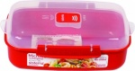 Sistema Rectangle Microwave Container 1.25ltr.