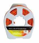 Blackspur 15M X 5.5MM PP BRAIDED ROPE ON REEL