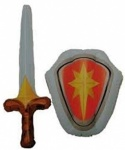 INFLATABLE SWORD & SHIELD PLAY SET
