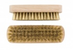 Elliot  NATURAL FIBRE Wooden Brown Shoe Brushes Set of 2