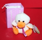 4'' Cute Chick/rabbit In Prtd Gift Bag 4 Asst
