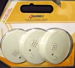 **** Lectrolite Battery Operated Smoke Alarm Pk3