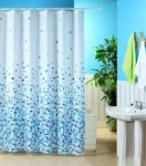 Mosaic Polyester Shower Curtain