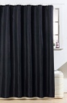 Blue Canyon Diamante Polyester Shower Curtain - Black (SC500/BK)