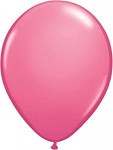 11'' High Quality Latex Premium Balloons Pk50 - Rose Pink
