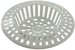 1 3/4'' Sink Strainers White