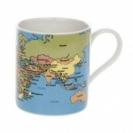 **Discontinued** Educational World Map Mug