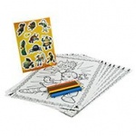 **Discontinued** Tree Fu Tom Colouring Set