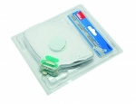Fold Flat Disposable Masks with Valve FFPI Pk2