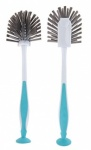 **Discontinued** Elliots Faintail Dish Brush with Suction Base & Grip Handle