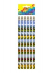 Pencil W/Eraser Full Size 6pc Dinosaur