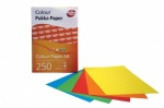 **Discontinued** A4 Coloured Paper - 5 Mixed Colours Per 250 Sheets