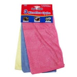 Superbright 3pk Microfibre Cloths
