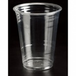 Royal Markets Clear Plastic 1 Pint Cups Pk50