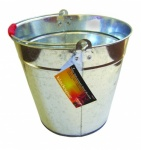 12ltr. Galvanised Steel Bucket