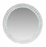 10cm Rnd Pearl/mirror C/stand