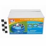 **Discontinued** My Splash 8' x 26'' Quick Set Ring Pool