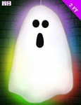 Multi Colour Light Up Ghost