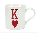 **Discontinued** King of Heart China Mug