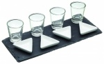 **** Kitchen Craft Tray Gift Set - Glass - Ceramic