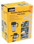 Rolson Stainless Steel Travel Mug 42918