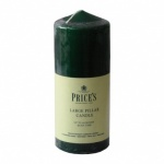 Prices 6'' Pillar Candle Evergreen