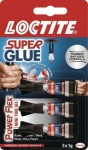Loctite super glue powerflex mini trio 3 x 1g