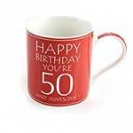 **Discontinued** Awesome Your 50 China Mug