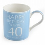 **Discontinued** Awesome Your 40 China Mug