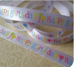 2M HAPPY BIRTHDAY RIBBONS 6AST