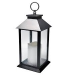 16X7 BLACK/WHITE LED LANTERN