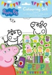 **Discontinued** Peppa Pig Colouring Set