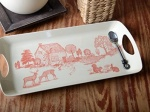 CT Woodland Toile Small Tray