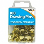 Tiger Drawing Pins 100pcs