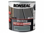 Ronseal Decking Rescue Paint Slate 2.5Ltr.