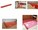 Ultratape Worktop Protector Film 600mm x 25M Red