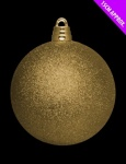 15cm APX Giant Bauble Gold