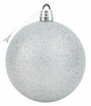 15cm APX Giant Bauble Silver