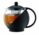 750ml Teapot with Infuser Black