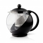 1.2 Ltr Teapot with Infuser Black