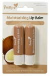 2 Pack Coconut Lip Balm