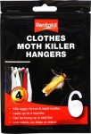 ***Rentokil Clothes Moth Killer Hangers 4pk