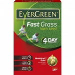 Evergreen Fast Grass Lawn Seed 450g + 33% Extra Free