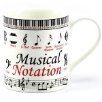 **Discontinued** Educational Musical Note Mug