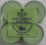 Chef's Maxi Tealights 4Pk