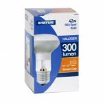 42W = 60W Halogen Rond SES Clear 2pk Blister